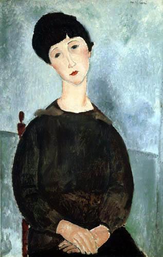Amedeo Modigliani - Junges Mädchen