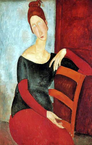 Amedeo Modigliani - Jeanne Hébuterne
