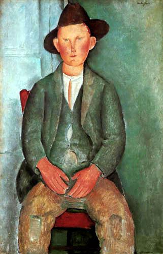 Amedeo Modigliani - Enfant de fermier