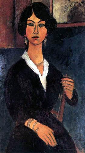 Amedeo Modigliani - L'Algérienne Almaïsa