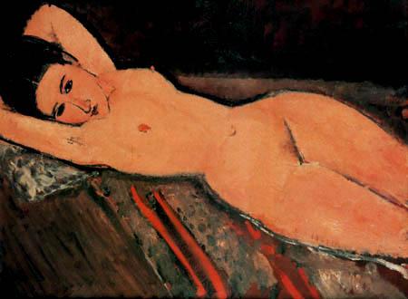 Amedeo Modigliani - Femme Nue allonge
