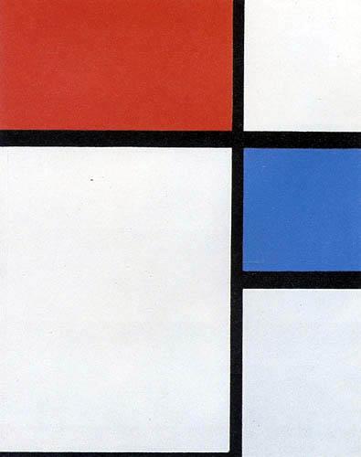 Piet (Pieter Cornelis) Mondrian (Mondriaan) - Composition