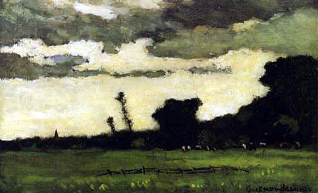 Piet Mondrian - Dämmerung