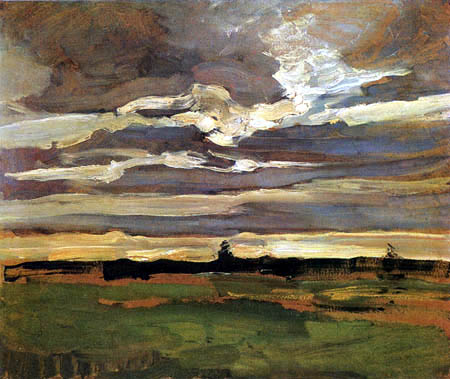 Piet (Pieter Cornelis) Mondrian (Mondriaan) - Paysage