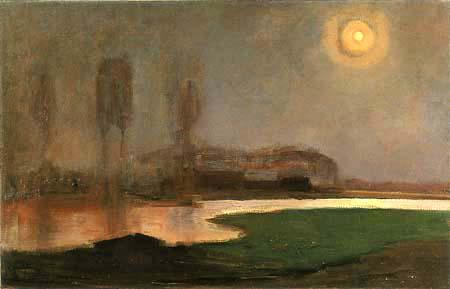 Piet Mondrian - Sommernacht
