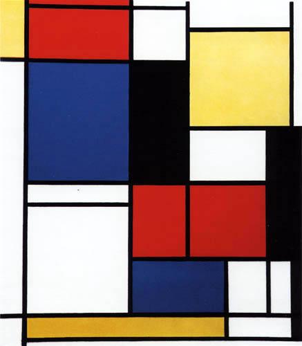 Piet Mondrian - Gemälde II