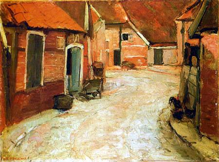 Piet Mondrian - Am Lappenbrink, Winterswijk