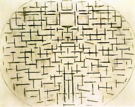 Piet Mondrian - Anlegestelle und Meer 4
