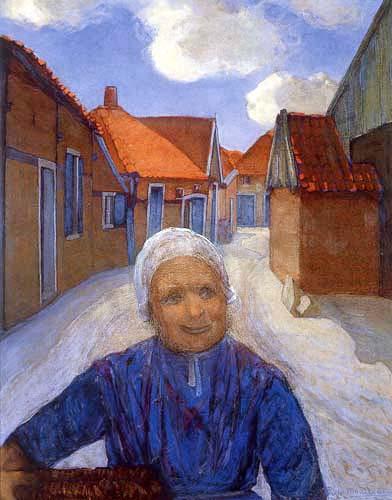 Piet Mondrian - Auf dem Lappenbrink, Winterswijk