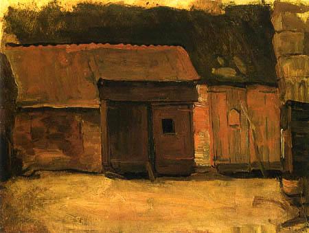 Piet Mondrian - Bauernhof in Nistelrode