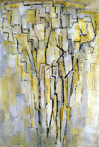 Piet Mondrian - Der Baum A