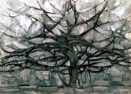 Piet Mondrian - Der graue Baum