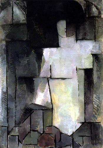 Piet Mondrian - Der große Akt