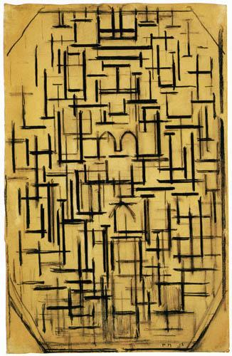 Piet Mondrian - Kirchenfassade 6
