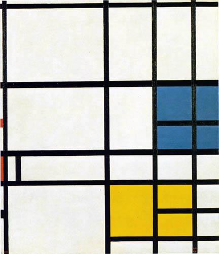 Piet (Pieter Cornelis) Mondrian (Mondriaan) - Composition London