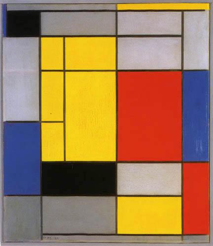 Piet Mondrian - Komposition I
