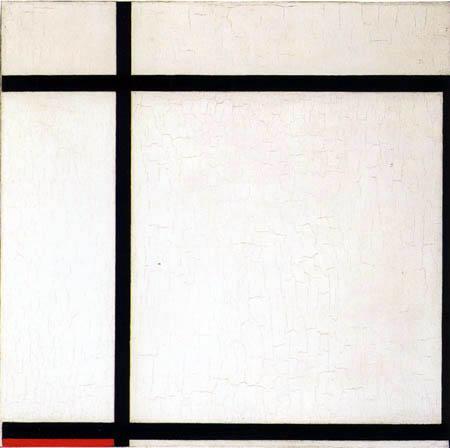 Piet Mondrian - Komposition II, in Rot