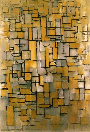 Piet Mondrian - Komposition XIV