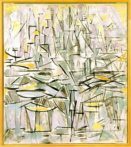 Piet Mondrian - Komposition XVI