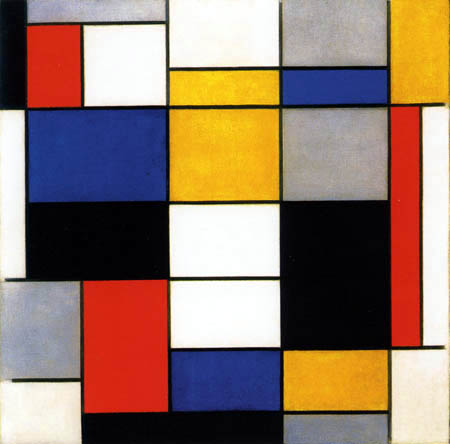Piet Mondrian - Komposition A