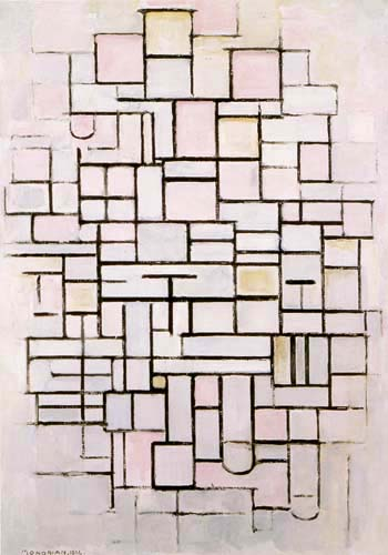 Piet Mondrian - Komposition IV