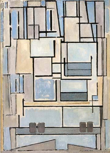 Piet Mondrian - Komposition VI