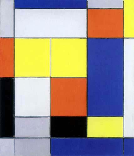 Piet Mondrian - Komposition B