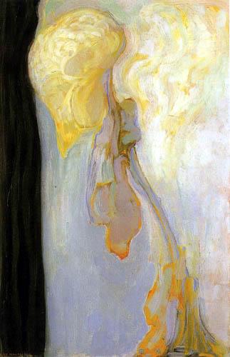 Piet (Pieter Cornelis) Mondrian (Mondriaan) - Metamorphosis, The Dying Chrysanthemum
