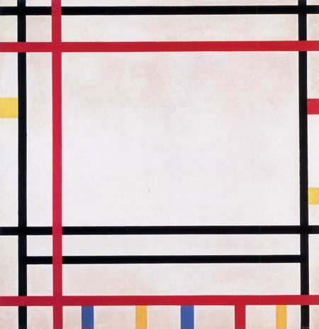 Piet (Pieter Cornelis) Mondrian (Mondriaan) - New York 1941, Boogie Woogie