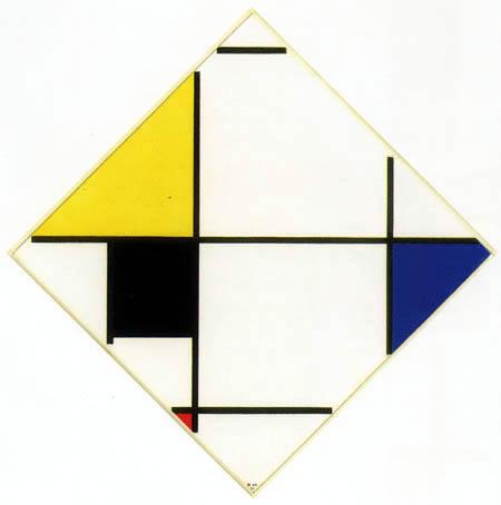 Piet Mondrian - Rautenkomposition