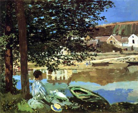 Claude Oscar Monet - Am Ufer der Seine