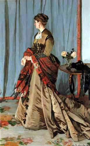 Claude Oscar Monet - Madame Gaudibert