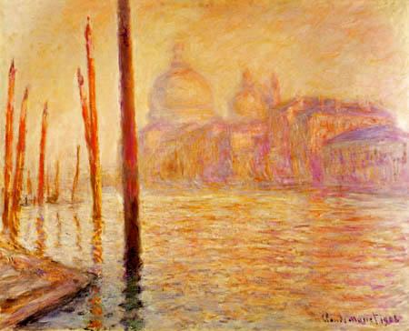 Claude Oscar Monet - Canal Grande, Venice