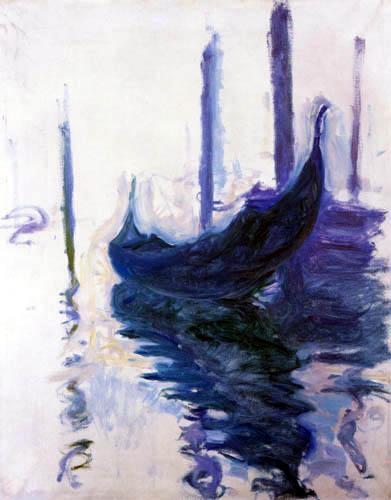 Claude Oscar Monet - Gondolas of Venice