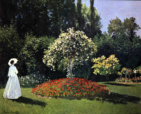 Claude Oscar Monet - Woman in the garden