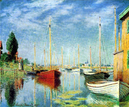 Claude Oscar Monet - Regatta in Argenteuil