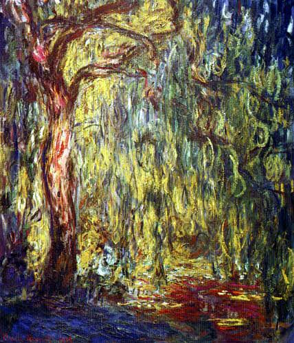 Claude Oscar Monet - Trauerweiden in Giverny