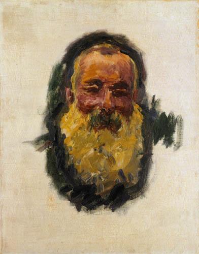 Claude Oscar Monet - Selbstbildnis