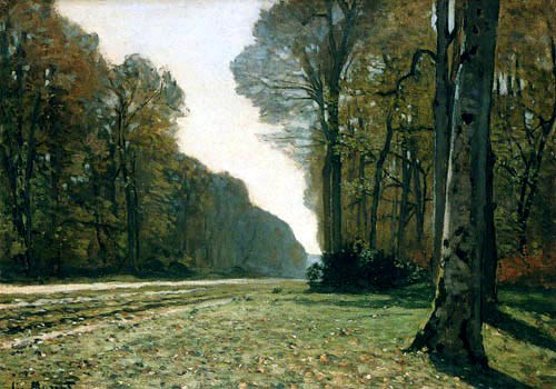 Claude Oscar Monet - Road to Chailly