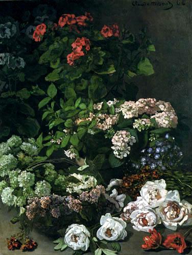 Claude Oscar Monet - Spring flowers