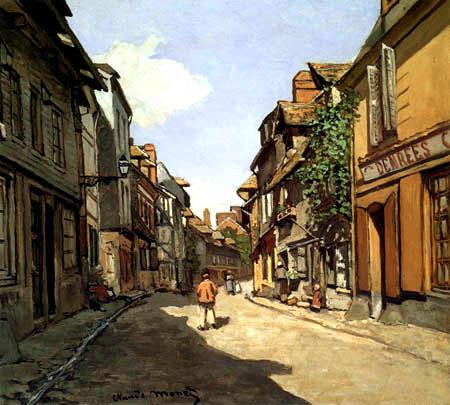 Claude Oscar Monet - Rue de la Bavolle, Honfleur