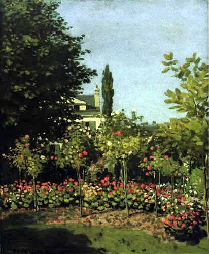 Claude Oscar Monet - Blühender Garten