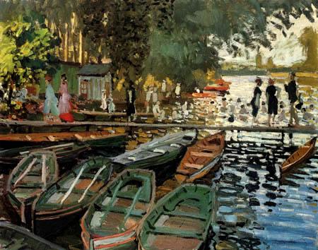 Claude Oscar Monet - Badende bei la Grenouillere