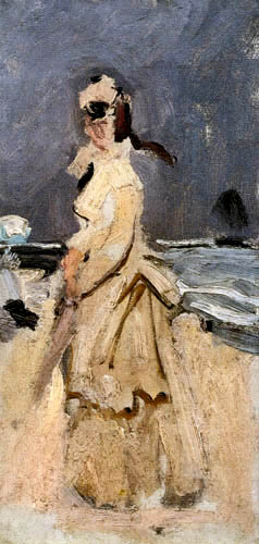 Claude Oscar Monet - Camille am Strand