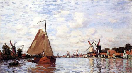Claude Oscar Monet - Zaandam, Holland