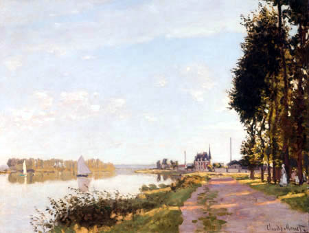 Claude Oscar Monet - Promenade, Argenteuil