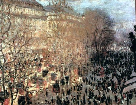 Claude Oscar Monet - Boulevard des Capucines