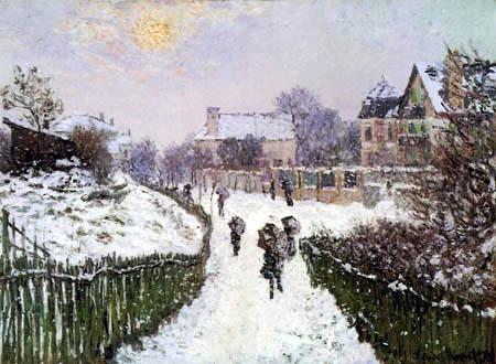 Claude Oscar Monet - Boulevard St. Denis, Argenteuil
