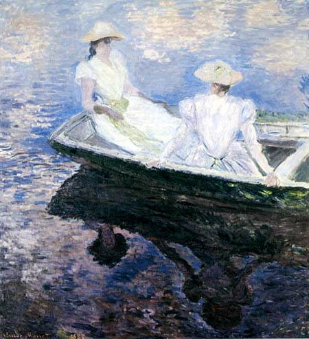 Claude Oscar Monet - A boating trip