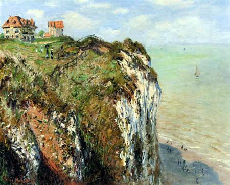 Claude Oscar Monet - The cliff of Dieppe